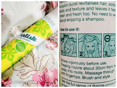 Batiste, batiste dry shampoo, dry shampoo, tropical