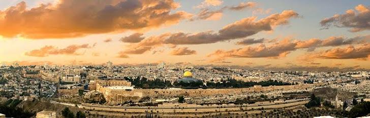 """""""Se eu esquecer de ti, ó Jerusalém..."""""""
