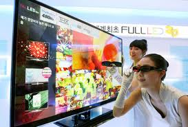 Tv LED 3D view