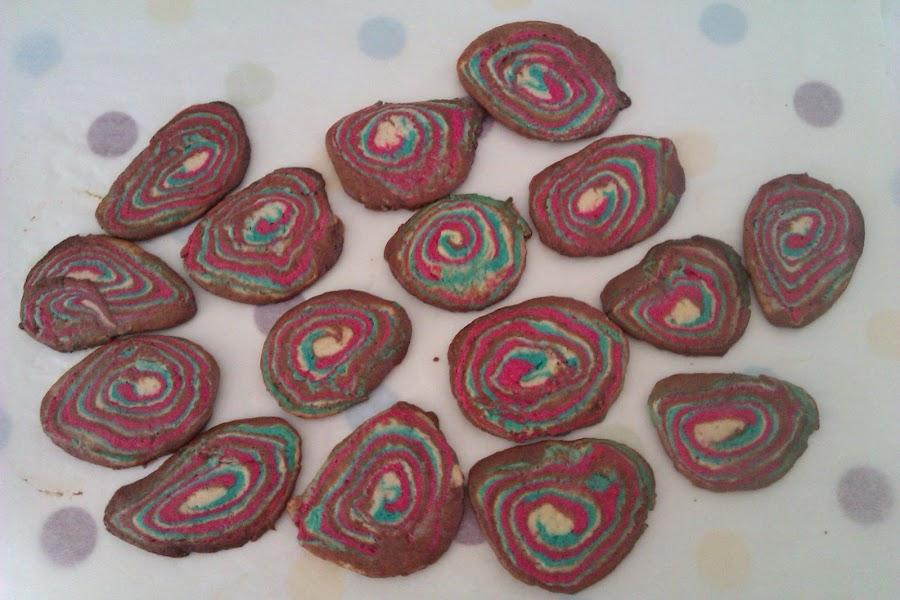 Apunta cómo hacer galletas caseras de colores