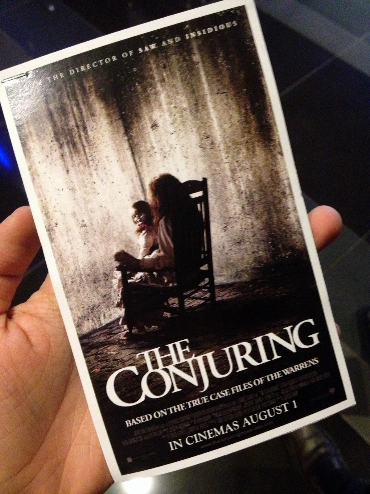 movie review the conjuring Check out the conjuring (2013) movie review, rating & box office before there was amityville, there was harrisville based on a true story, the conjuring tells the.