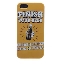 funda iphone 5 barata retro  cerveza