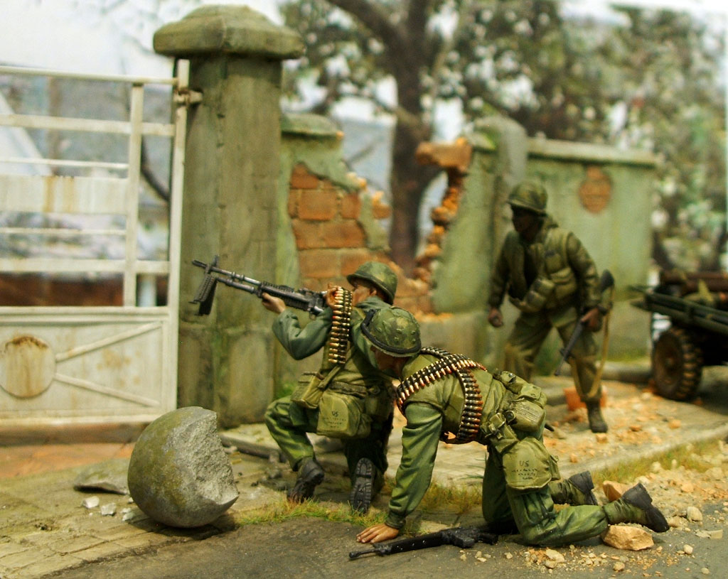 Land sea air amp space marines in hue city second act