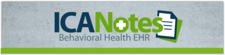ICANotes EHR EMR for Psychiatry and Mental Health