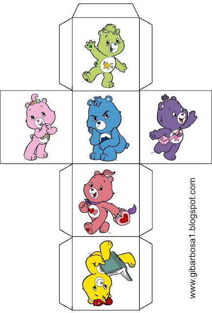 Cubo para montar Ursinhos Carinhosos