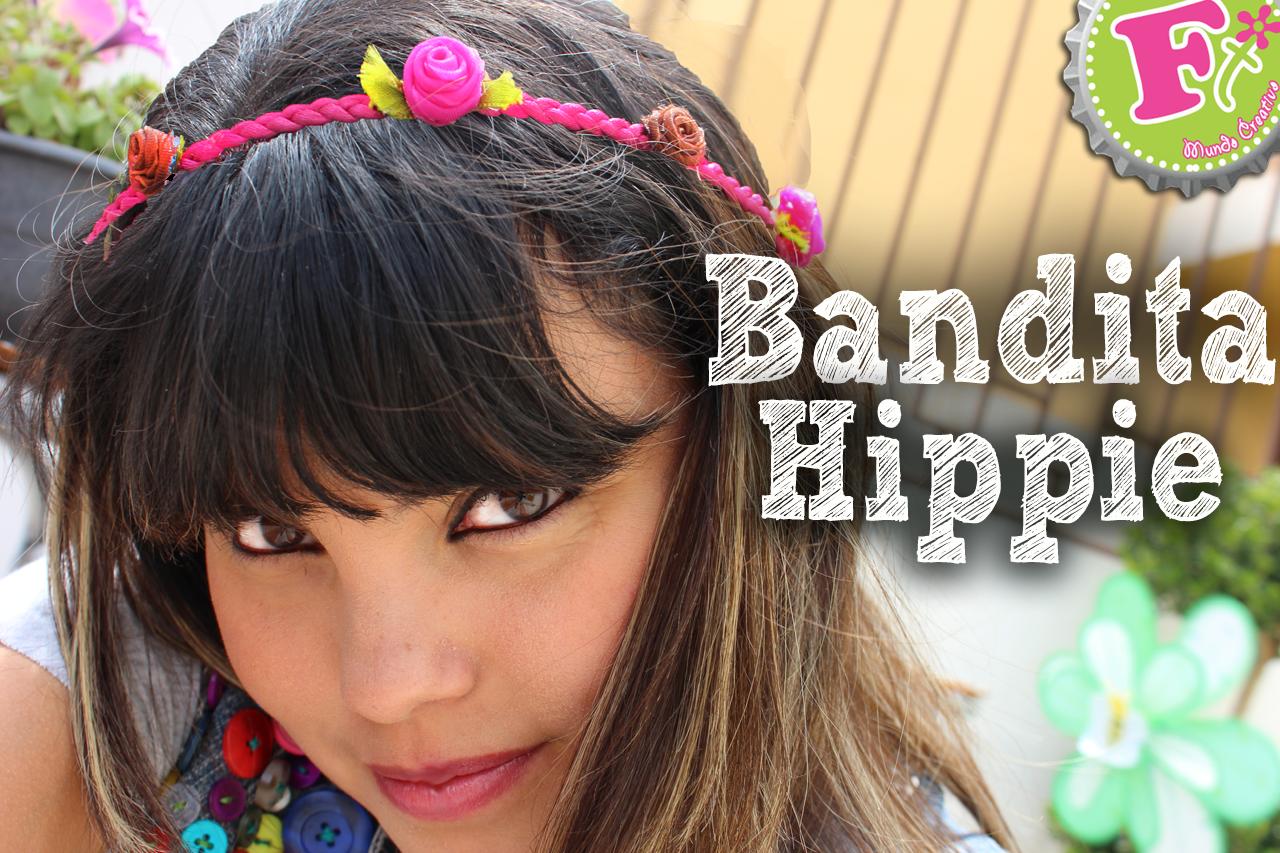 Como hacer bandas o diademas HIPPIES!