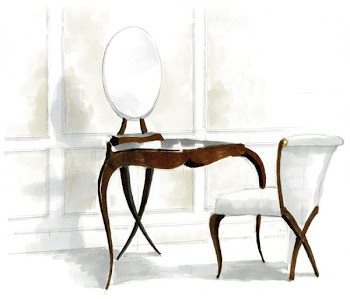 Christopher Guy Dressing Table & Chair