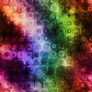 Colorful Circles Texture