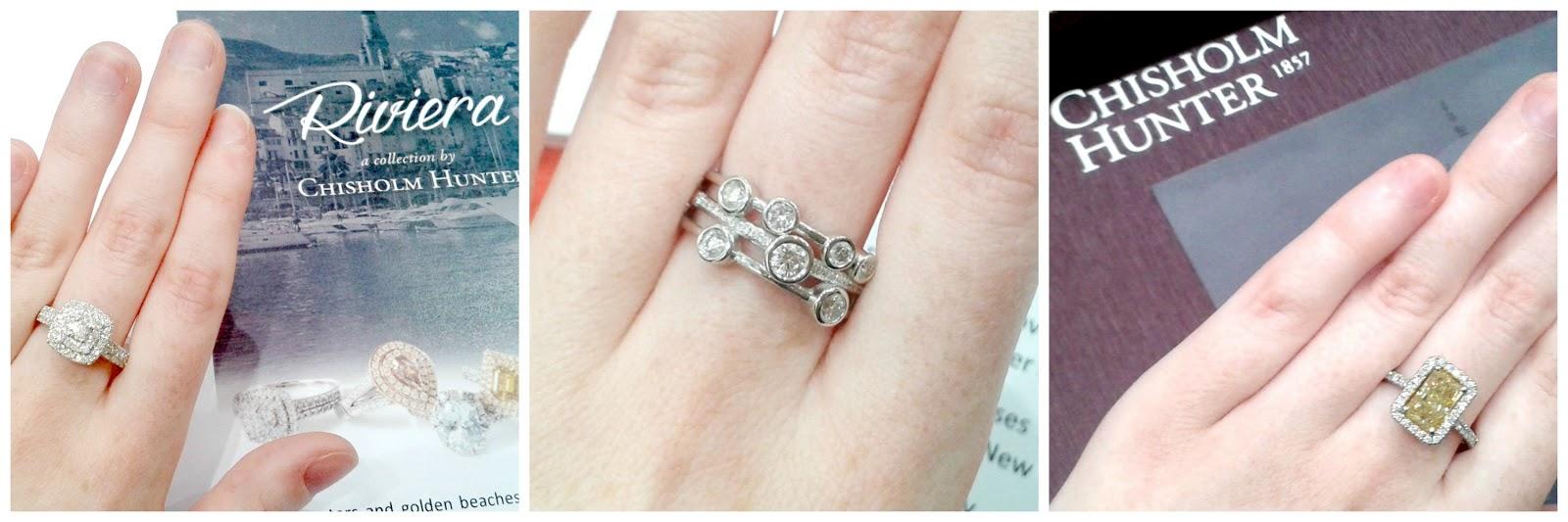 Chisholm Hunter Rings
