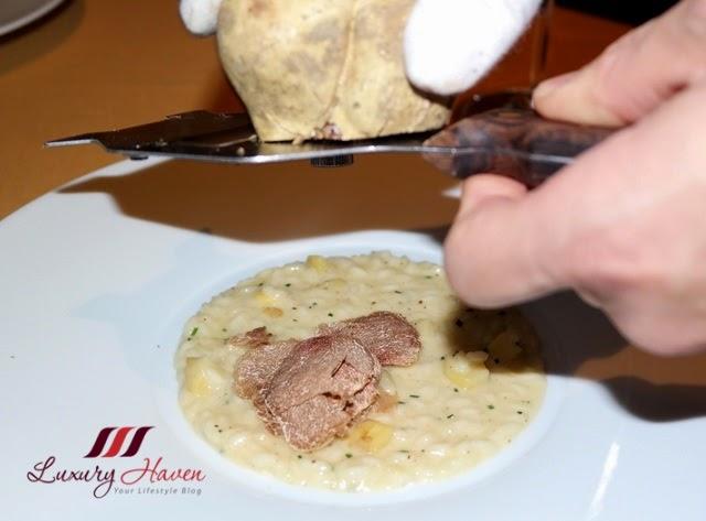 tokyo bvlgari il ristorante risotto tartufo review