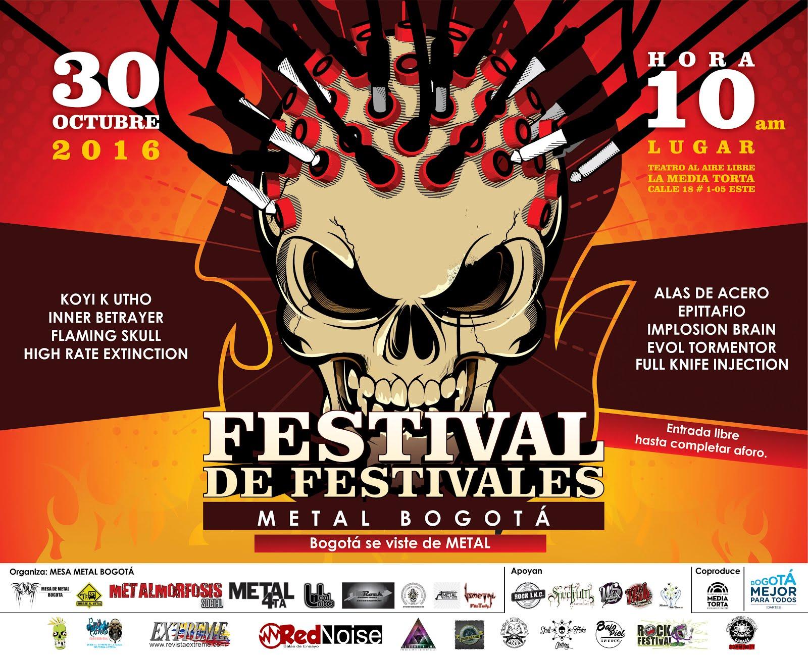 Usmetal Festival presente en FDFMB 2016 con la banda EPITTAFIO