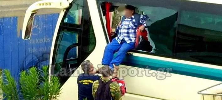 Πρόεδρος ΚΤΕΛ Αχαΐας: Οι επιβάτες έσπαγαν τα τζάμια του λεωφορείου για να σωθούν από τα νερά