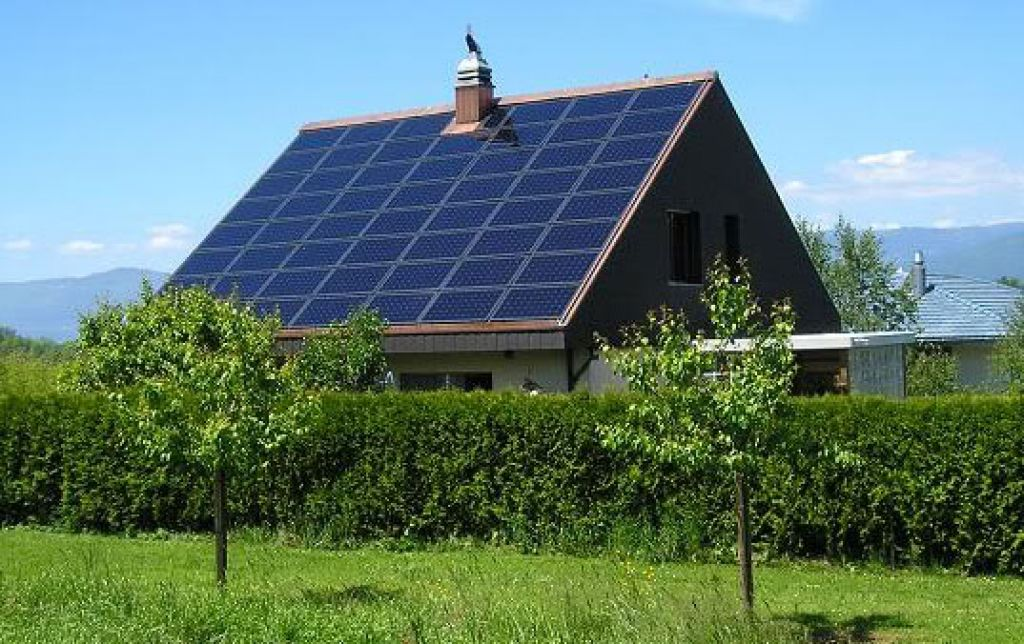 The solar power generator unlike most generators does notproduce that ...