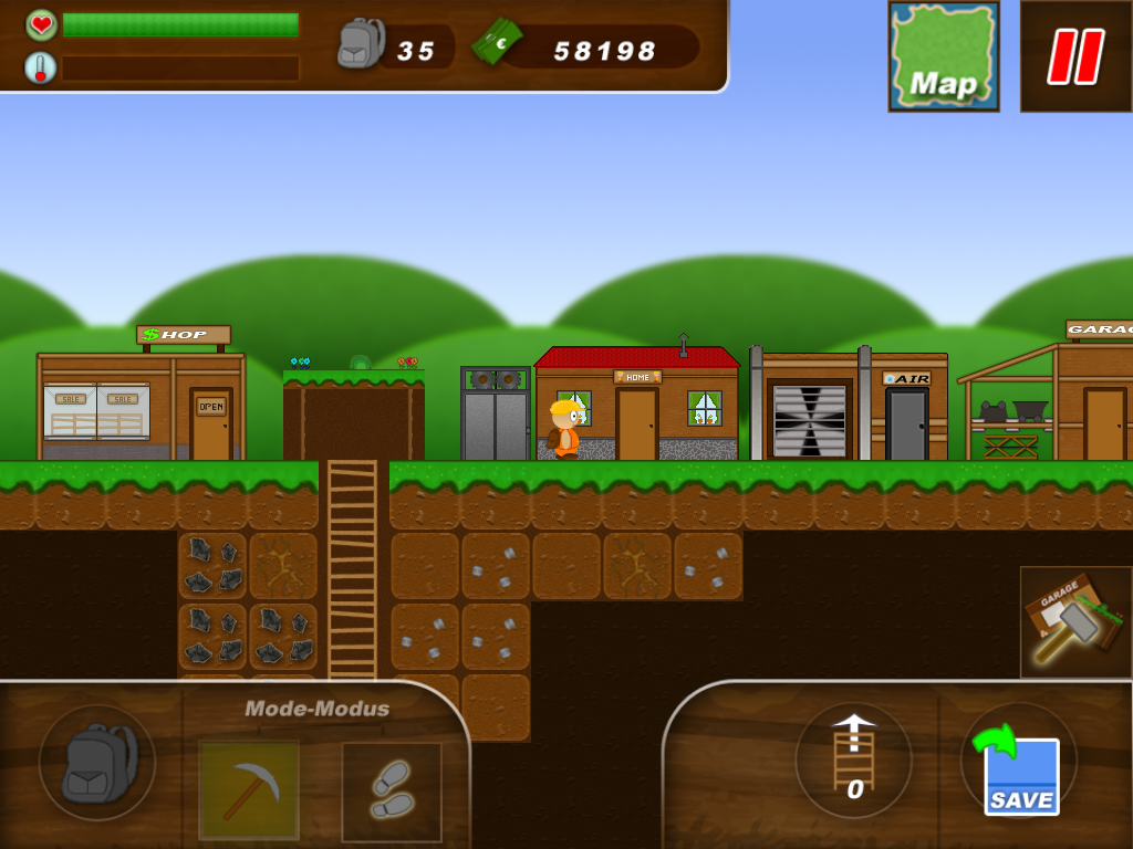 Treasure Miner - a mining game | Download APK For Free