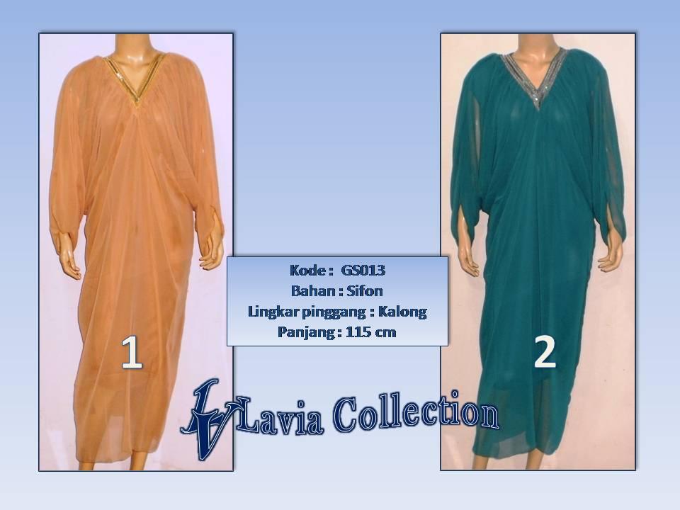 Gamis Sifon Polos Gs013 Grosir Baju Muslim Murah Tanah Abang
