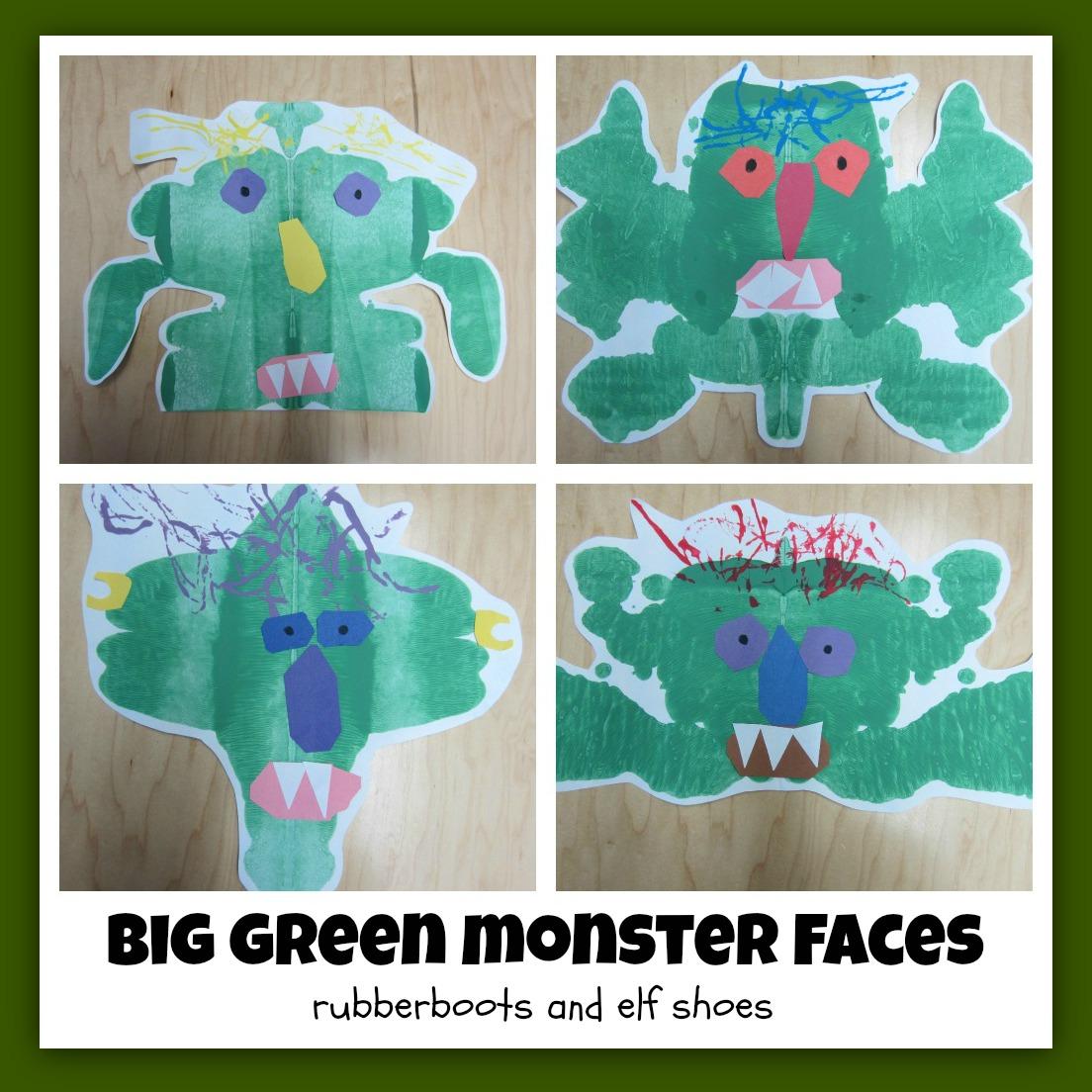 go away green monster pdf