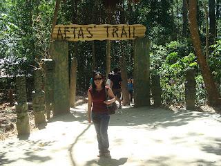 aetas' trail in zoobic safari