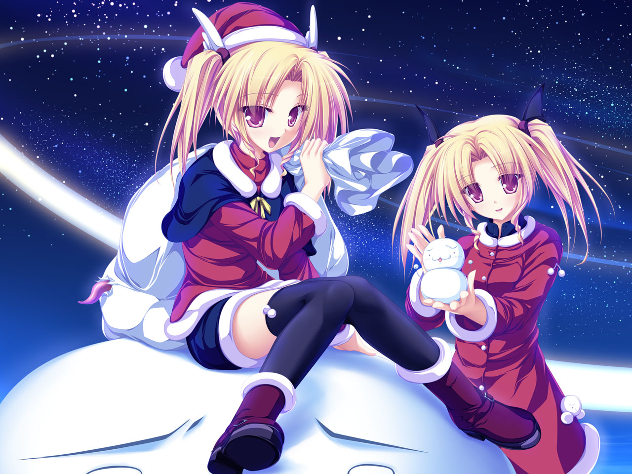 Manga Christmas Pictures
