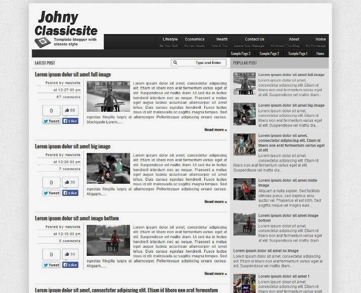 Johny Classicsite