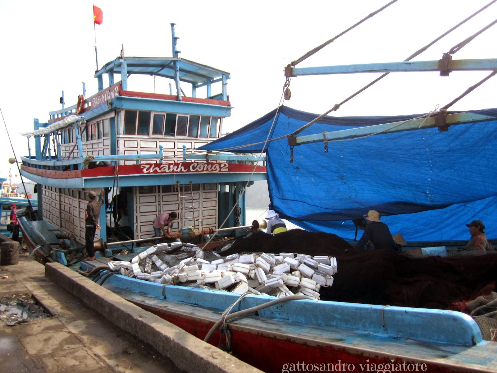 Qui Nhon port