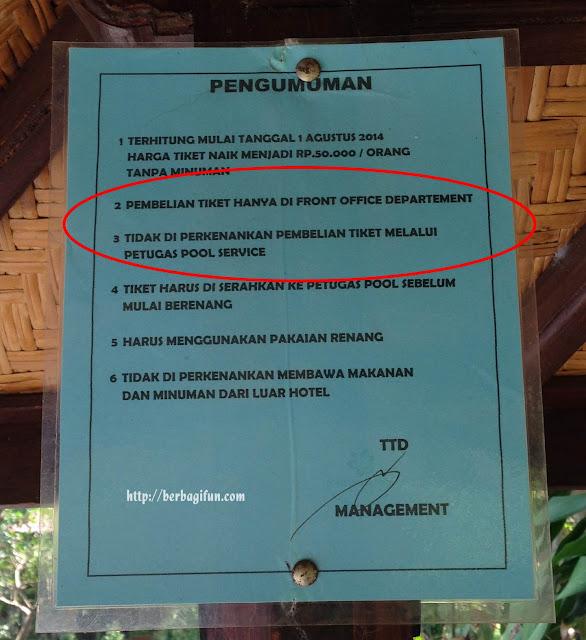 lombok garden pool ee