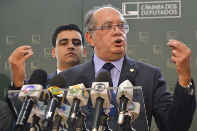 GILMAR MENDES DESMASCARA O PLENÁRIO: 'ASSUMAMOS ENTÃO QUE ESTAMOS MANIPULANDO O PROCESSO!'