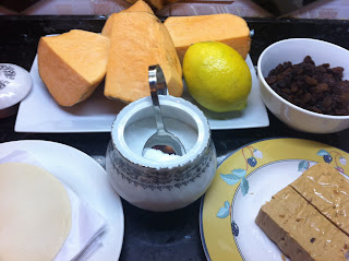 batata,turrón,limón,obleas,pasas,azucar,anís