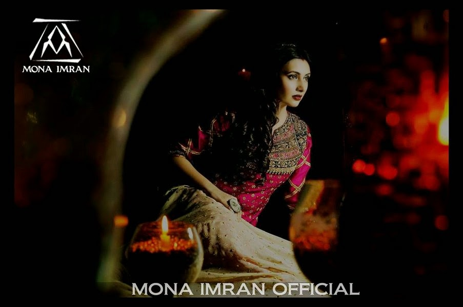 Mona Imran Formal Dress Collection 2014-2015