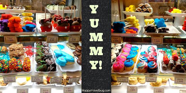 Yummy treats at Disney World
