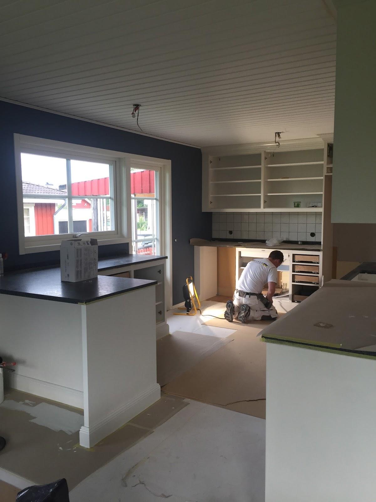Pernillas rum: att från ett helt tomt utrivet kök se ett nytt växa ...