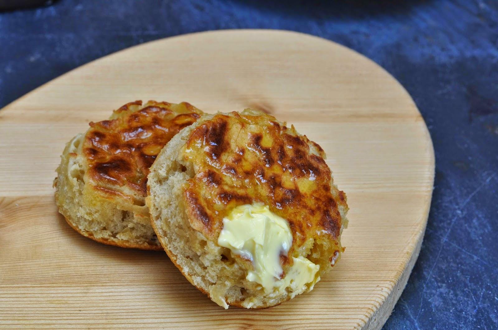 Homemade English Crumpets ~ Simple Food