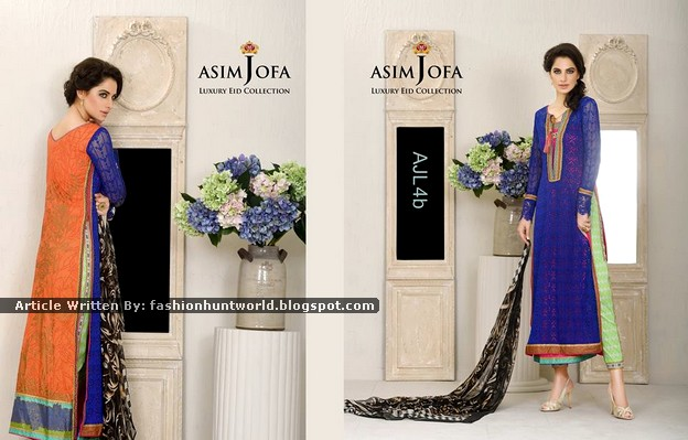 Asim Jofa - Luxury Eid Collection 2015 Catalogue