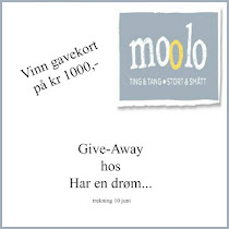Give away hos Har en drm...