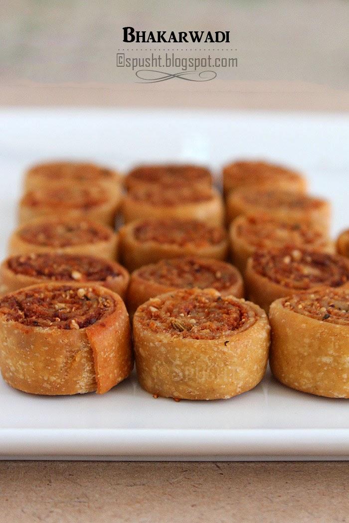 Spusht | Recipe for Bhakarwadi | Popular snack from Maharashtra