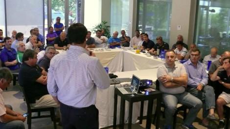 Reunión de Presidentes de Uniones en Paraná