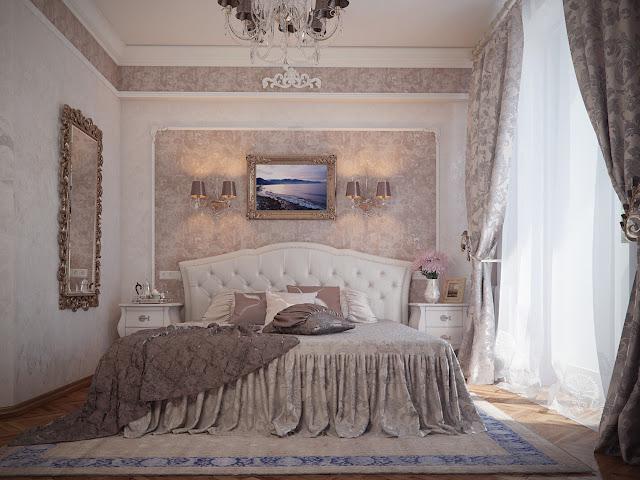 Спальня дизайн классика