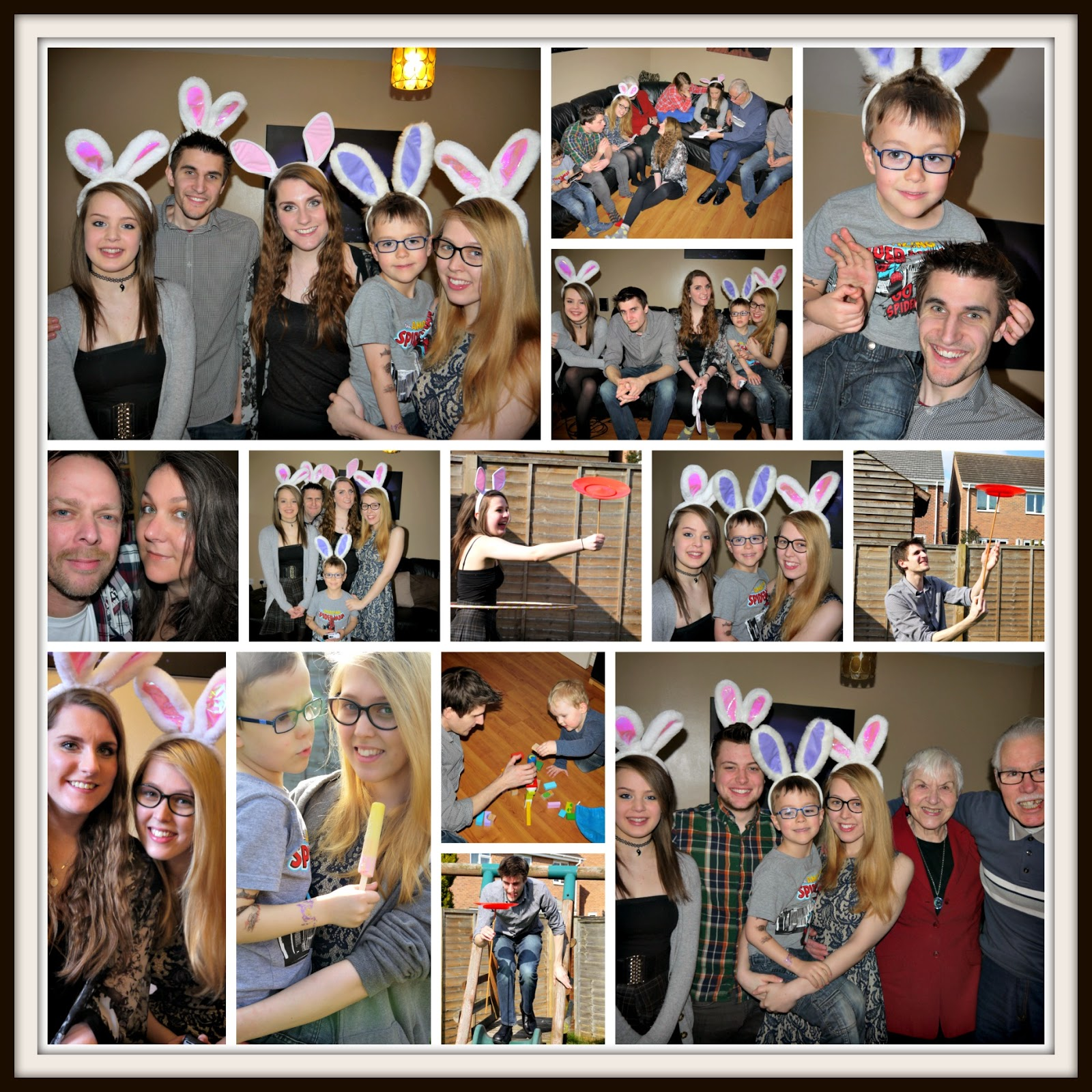 Easter, family, siblings