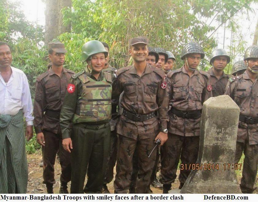 Bangladesh Myanmar Troops Peace