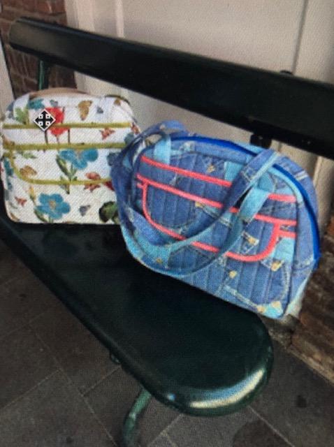 Ook zo'n supermooie tas maken met Marina? In 2 dagen maak je hem