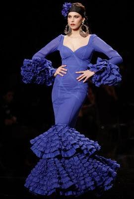 trajes de flamenca 2014 M.J Blay