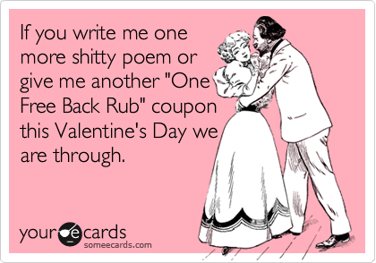 funny valentines day poems for friends