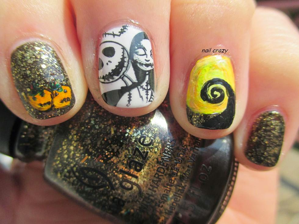 Nail crazy: Bat My Eyes in The Nightmare Before Christmas