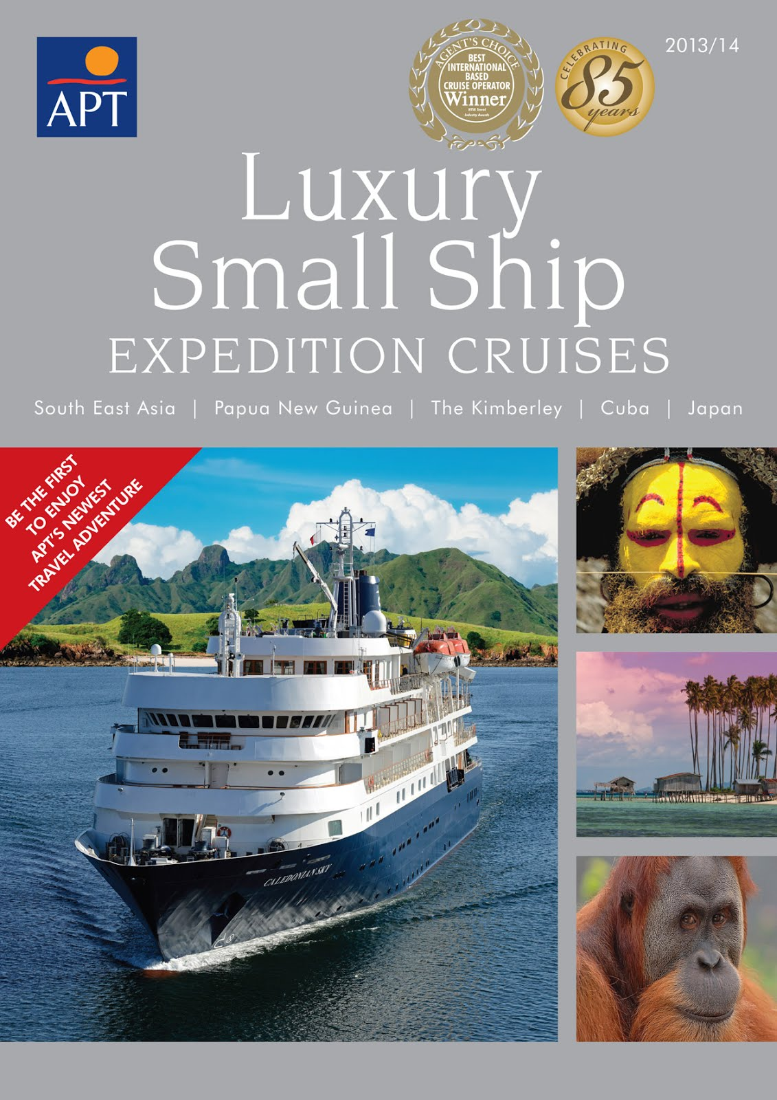 Apt cruises into luxury small ship expeditions for Luxury small cruise lines