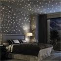 Leuchtende Sterne Wandtattoo