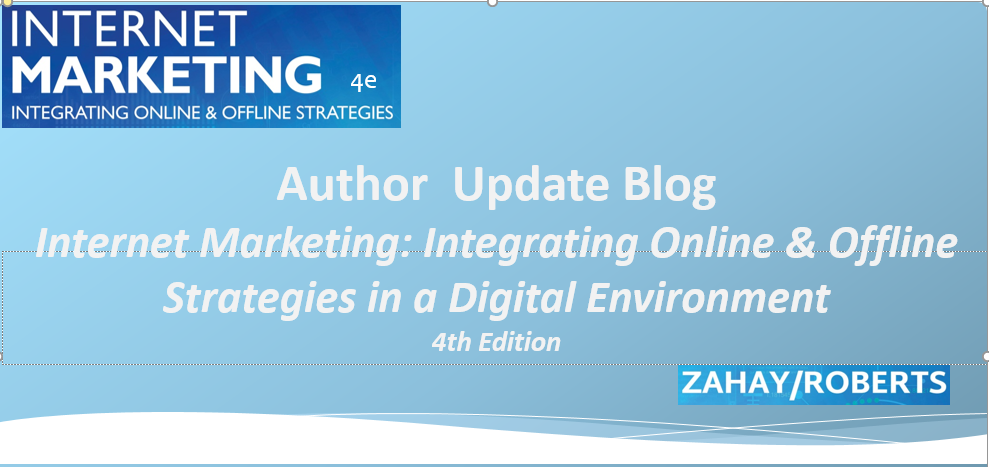 Updates for Internet Marketing 4th ed