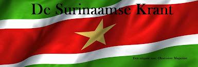 De Surinaamse Krant: dagelijks Surinaams nieuws