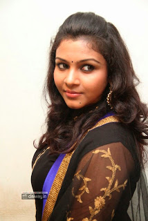 Actress-Saranya-Nag-Stills-at-Eera-Veyil-Audio-Launch