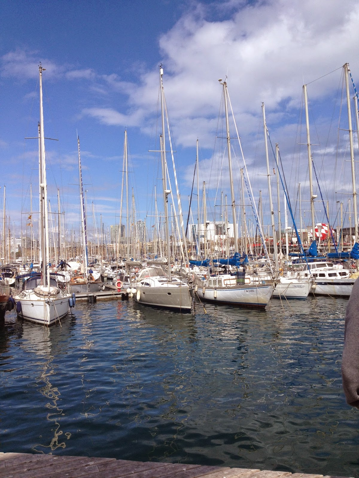 port vell barcelona april