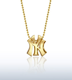 Little MLB New York Yankees Necklace by Alex Woo