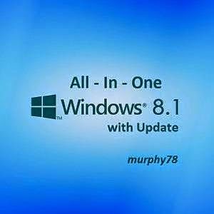 โหลด Windows 8.1 8in1 x86 x64 en-US Mar2015